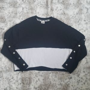 PINK Cropped Sweater Size XS